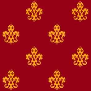 Our Royal Family Fabric V6