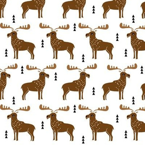 moose // simple moose canada animal nursery adventurer maine boys outdoors