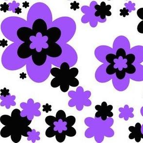 Purple Floral Flower Pattern