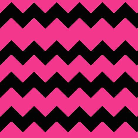 hot pink black chevron zig zag pattern fabric decamp