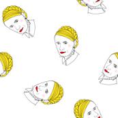 Putina on white
