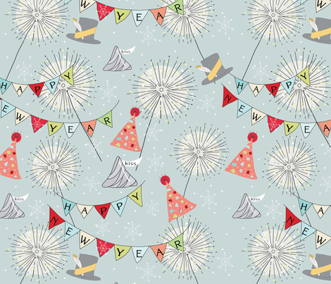 Celebrate fabric by cathleenbronsky on Spoonflower - custom fabric