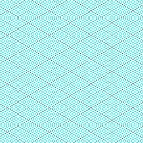 04904953 : isometric graph : cyan teal