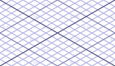 isometric graph : lavender blue