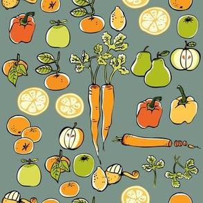 Carrot Grey