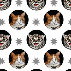 Cats & Stars Alabaster