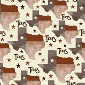 Texas Map Cream