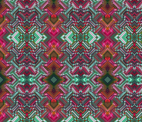 On the Way to Santa Fe IV fabric by flowerchildtrends on Spoonflower - custom fabric