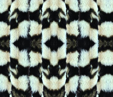 tigerpattern fabric by riasakran on Spoonflower - custom fabric