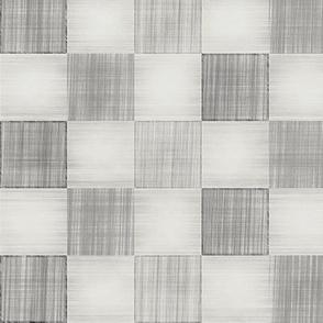Pencil Check Square Geometric Monochrome