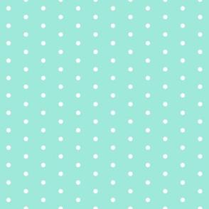 dot // bright mint girls sweet little polka dots baby girl