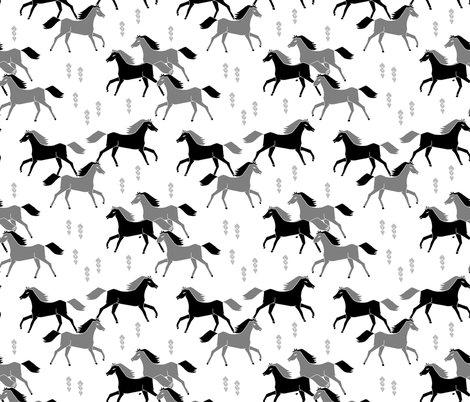 Rwestern_horses_grey_black_shop_preview