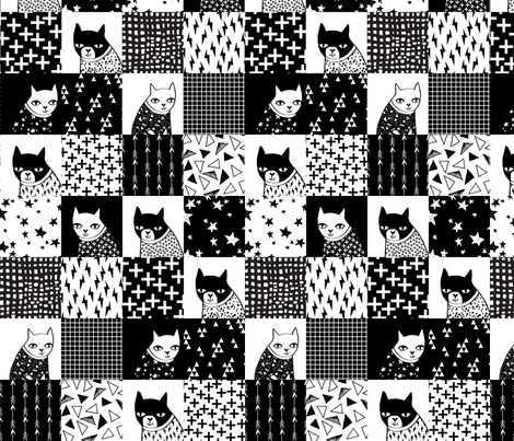 Best Black And White Cheater Quilt Fabric