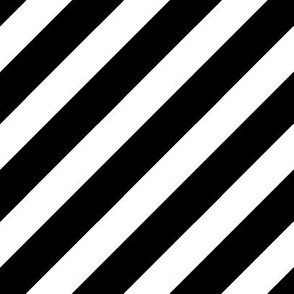 Stripes // minimal modern black and white baby quilting