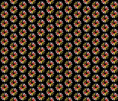 * black eyed susan * fabric by shandubdesigns on Spoonflower - custom fabric
