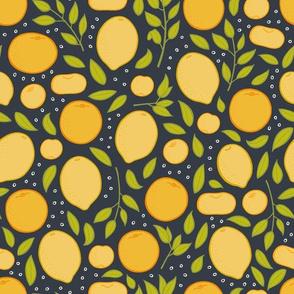 Citrus - Charcoal