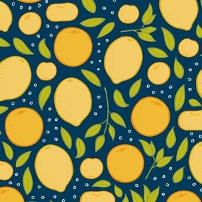 Citrus - Navy