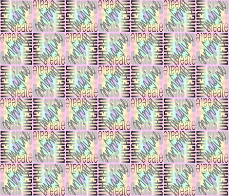 DICIS Pastel Rainbow (Bi-Directional) fabric by esheepdesigns on Spoonflower - custom fabric