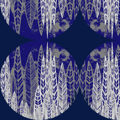 Blue Flax Leaves