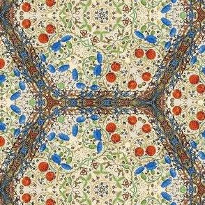 Medieval Kaleidoscope - Berries &  Thistles