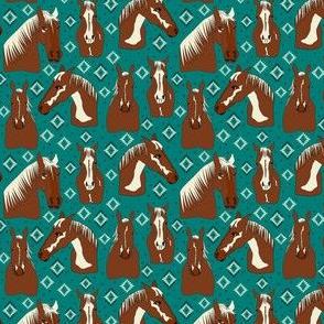 Texas Horses Turquoise