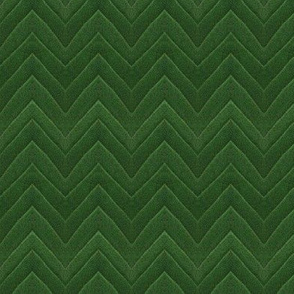 Green leaf chevron