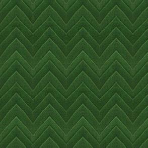 Green leaf chevron
