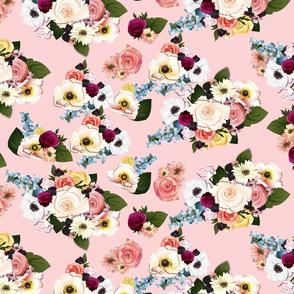 Neobohemian Rhapsody on Rose Quartz blush pink