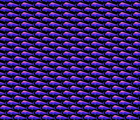 Mahi Dolphinfish negative fabric by combatfish on Spoonflower - custom fabric
