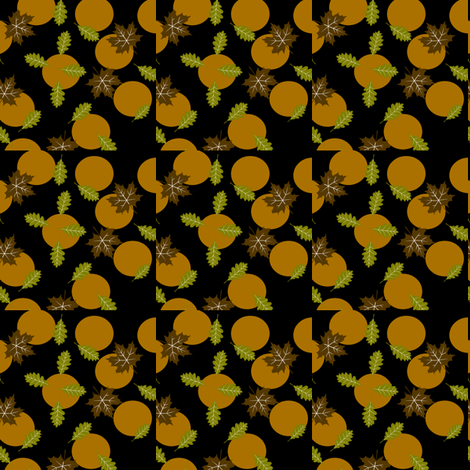 Altered Harvest Moon fabric by betz on Spoonflower - custom fabric