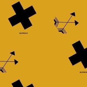 mustard monogram