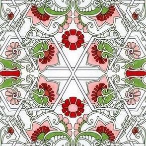 A Simple Garden Tangle