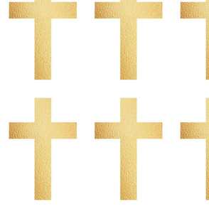 Crosses in Gold, Bling!