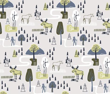Hike and Seek fabric by chris_jorge on Spoonflower - custom fabric