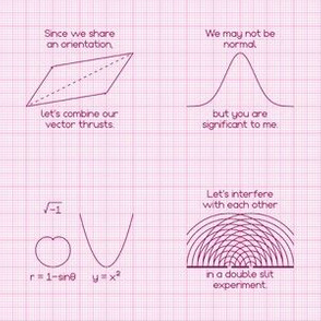 adult geek graphs : pink