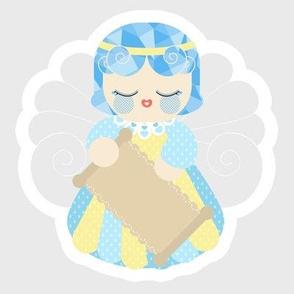 Guardian Angel blue