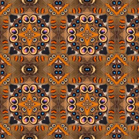 buckeye butterfly kalei III fabric by janbalaya on Spoonflower - custom fabric