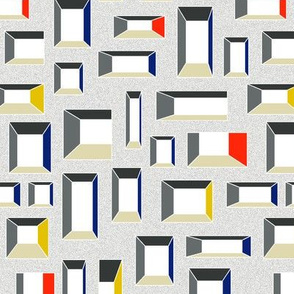 Windows (yellow blue and red)