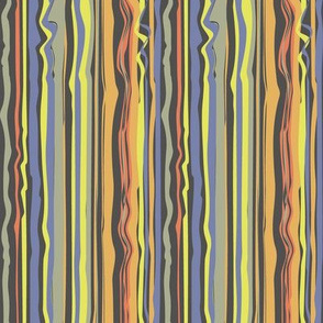unruly stripes with dark background