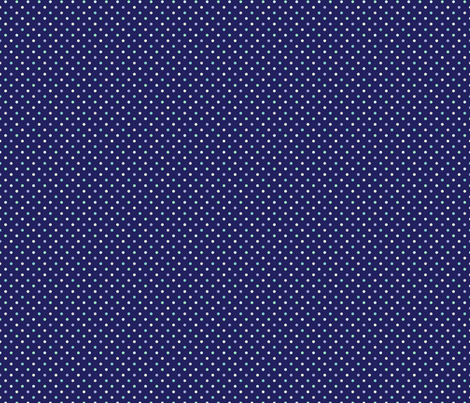 Cool dots on Dark Blue (Street) fabric by brendazapotosky on Spoonflower - custom fabric