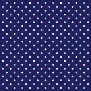 Cool dots on Dark Blue (Street)