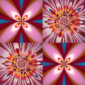 Faceted Floral 04