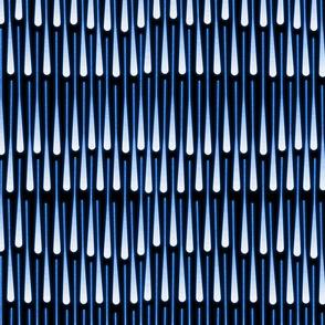 fireworks rain (blue)