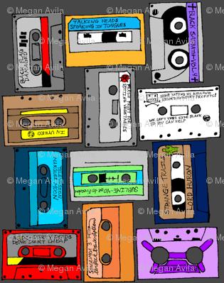 Favorite Album Cassettes