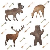 Deer Bear Stag Moose