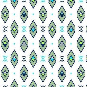 White Aztec Diamond