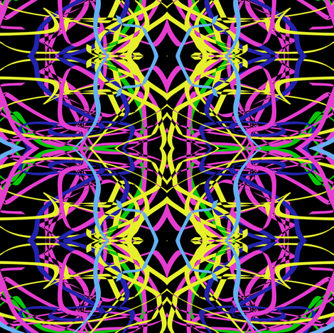 Grafitti fabric by pamelachi on Spoonflower - custom fabric