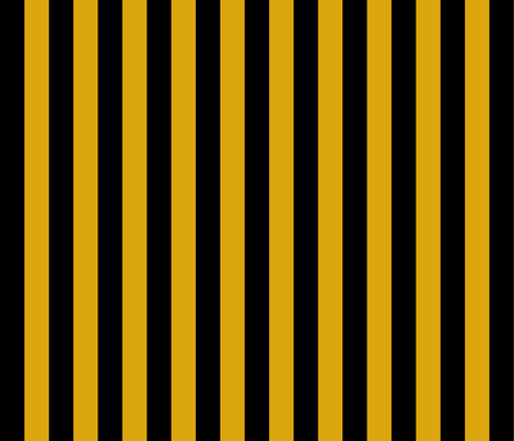 Egyptian Stripe Black and Gold fabric by anamaye on Spoonflower - custom fabric