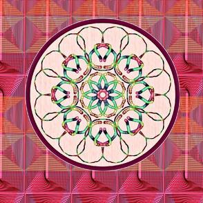 Kaleidoscope Basket-Pinks