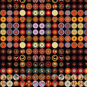 magic mandala buttons